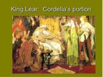 king lear cordelia s portion