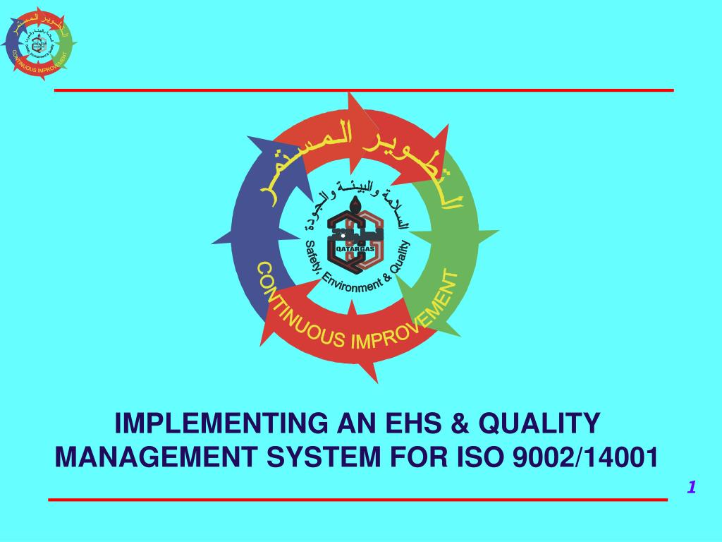 IMPLEMENTING AN EHS & QUALITY