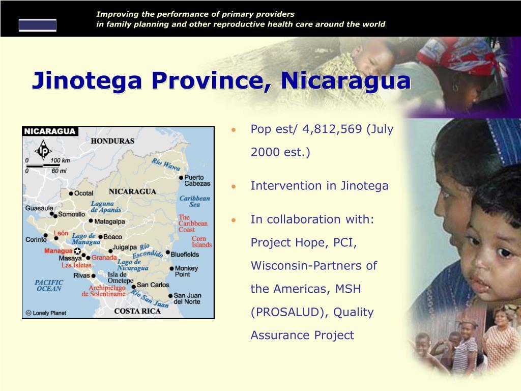 Jinotega Province, Nicaragua