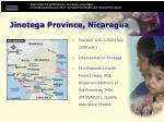 jinotega province nicaragua