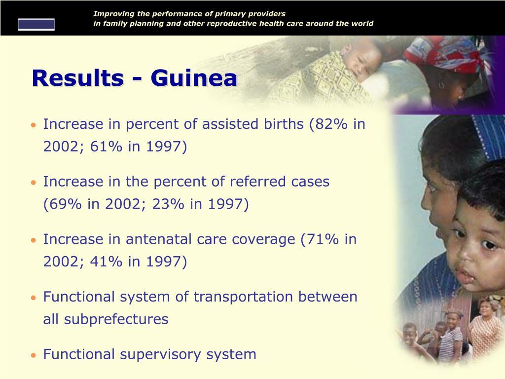 Results - Guinea