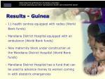 results guinea21