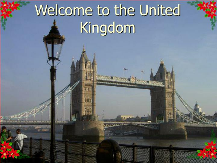 welcome to the united kingdom n.