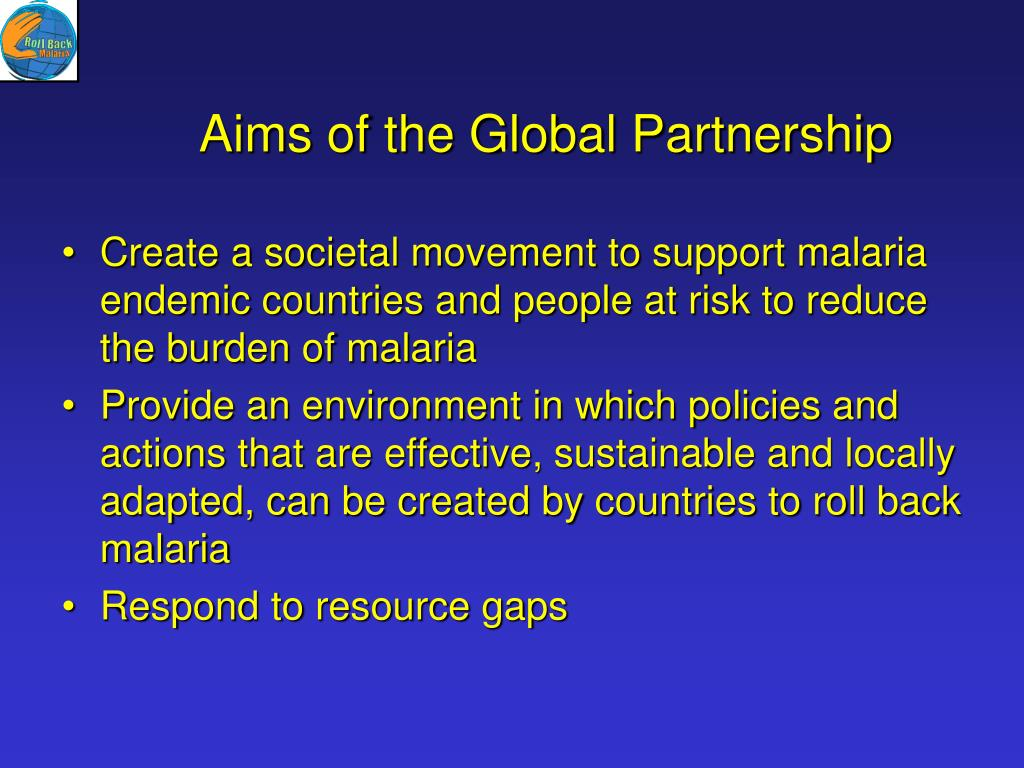 Aims of the Global Partnership