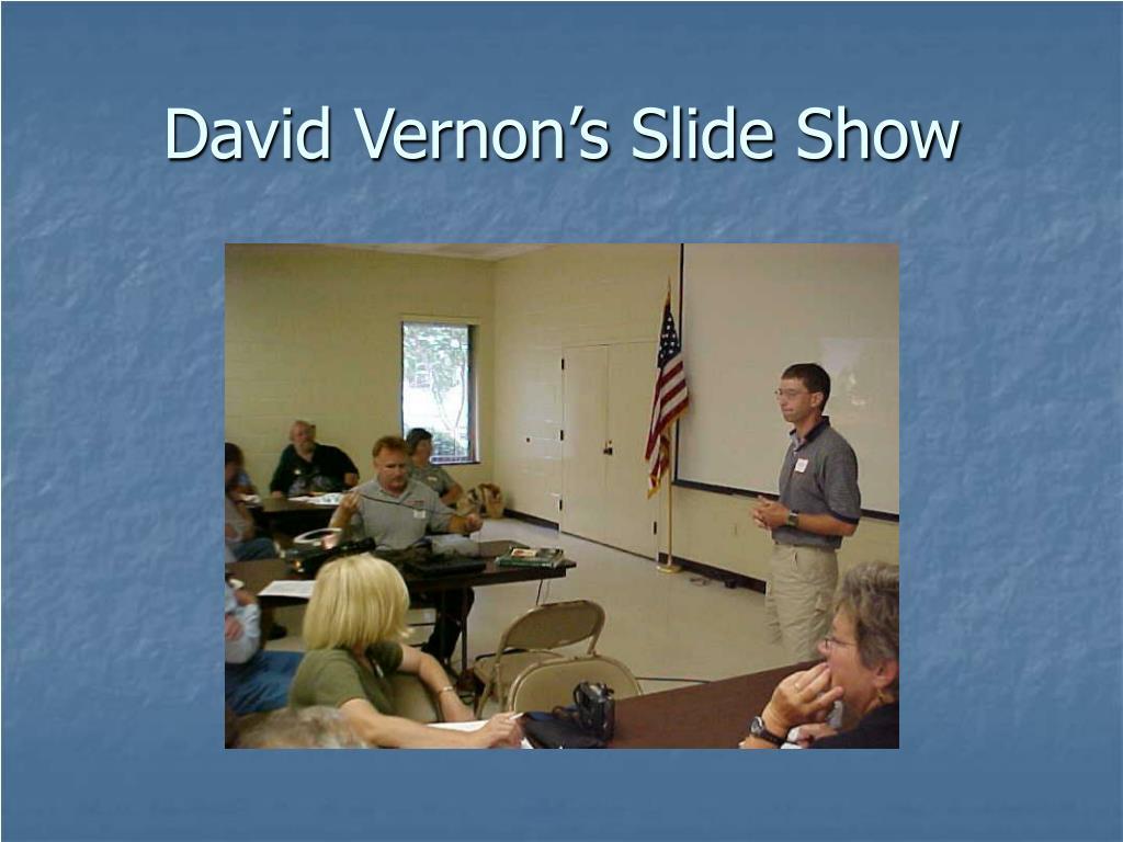 David Vernon's Slide Show