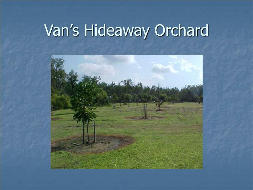 Van's Hideaway Orchard