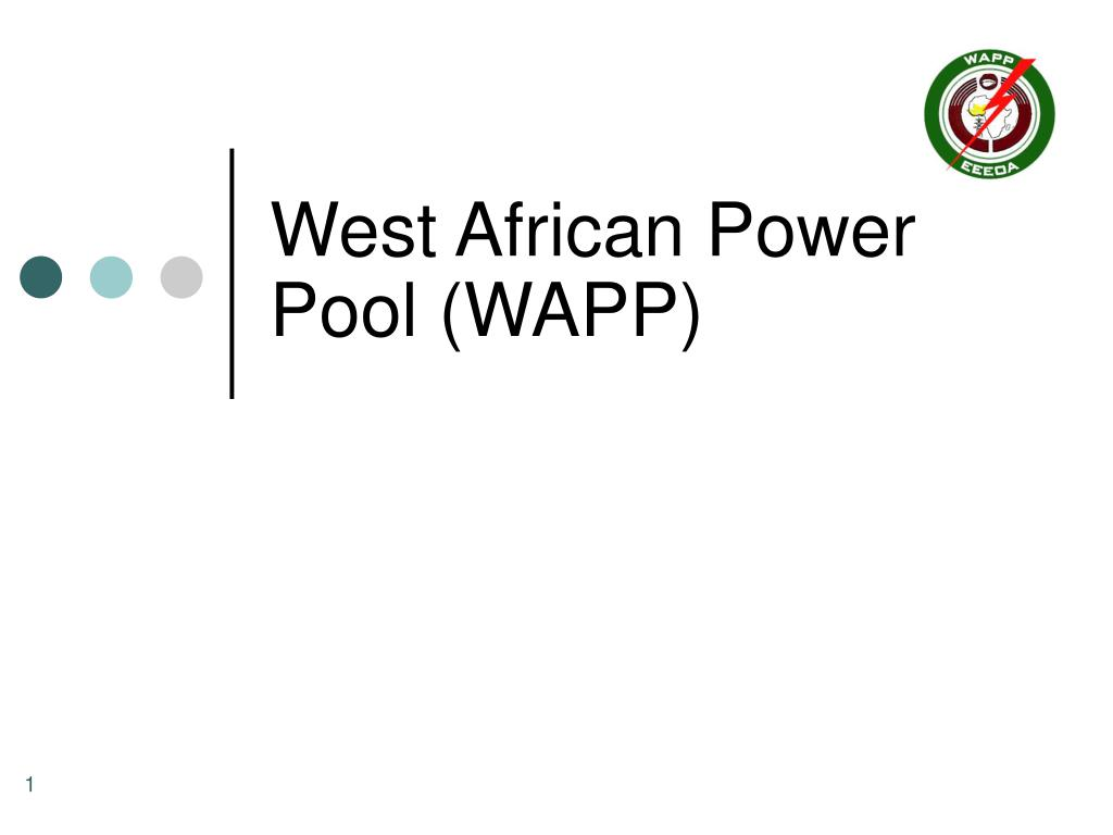west african power pool wapp l.