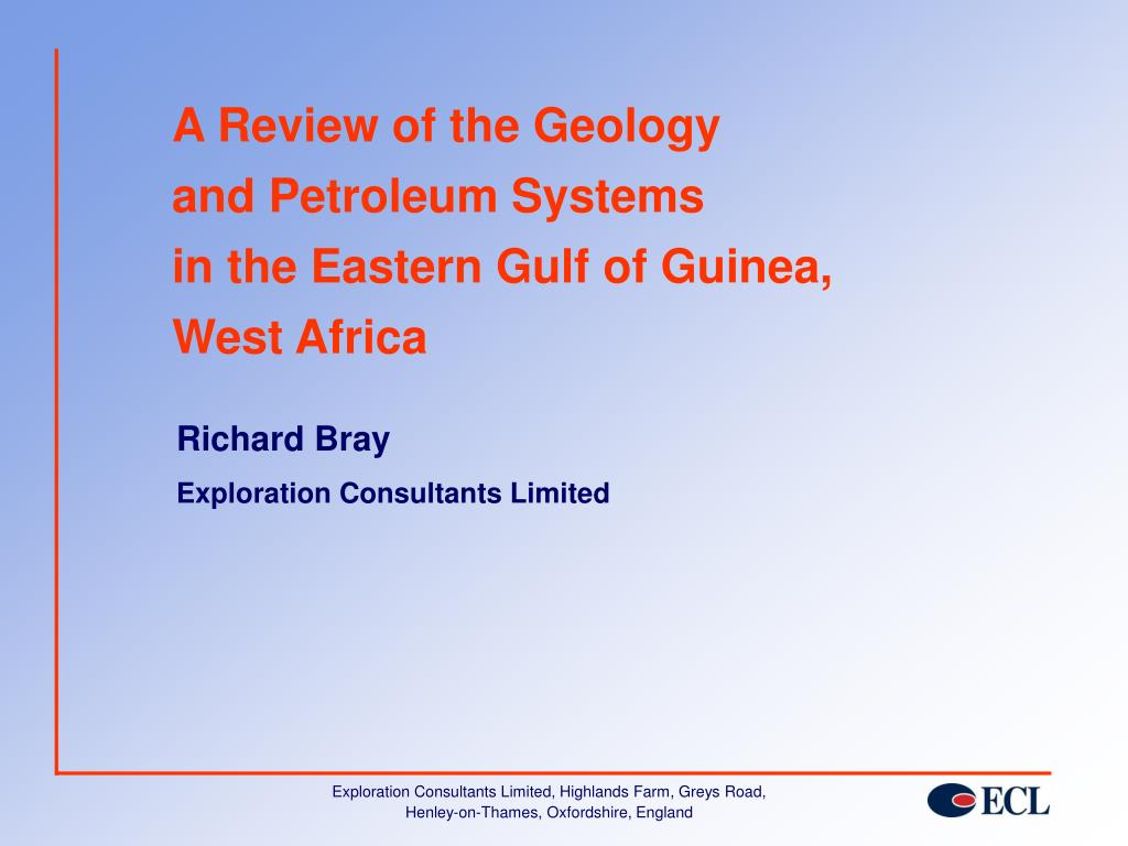 A Review of the Geology