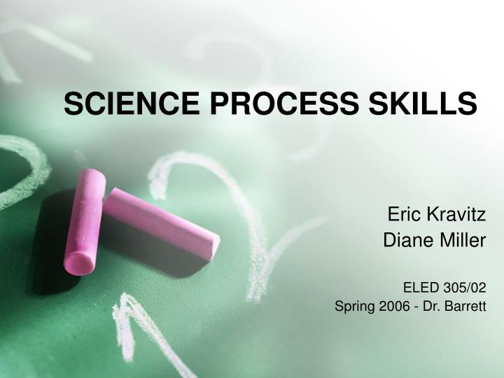 science process skills n.