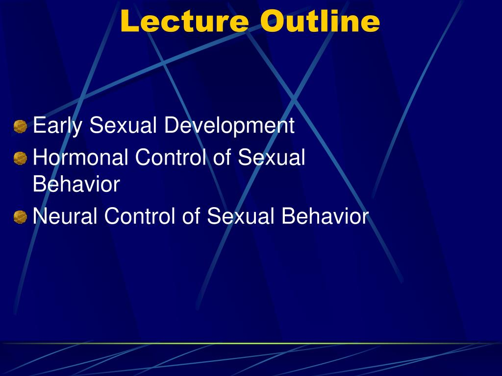lecture outline l.