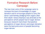formative research before campaign4