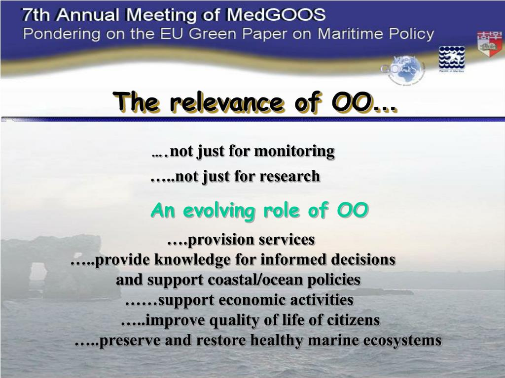 The relevance of OO