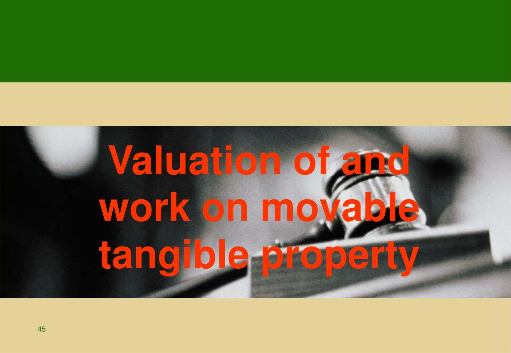 Valuation of and
