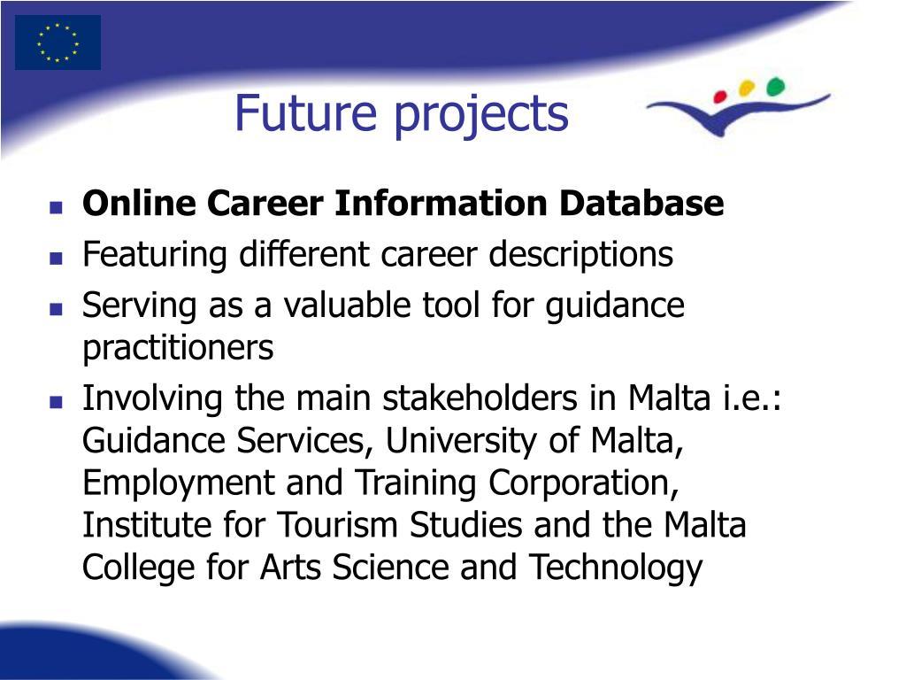 Online Career Information Database