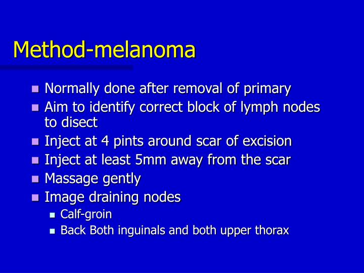 Method-melanoma