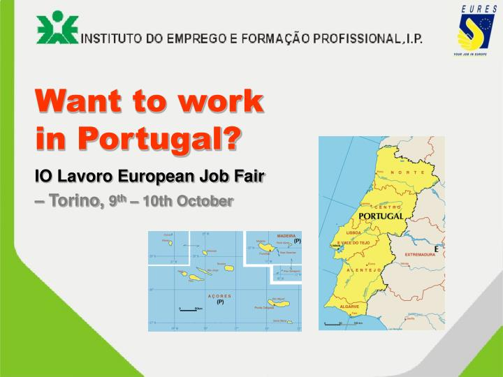 want to work in portugal n.