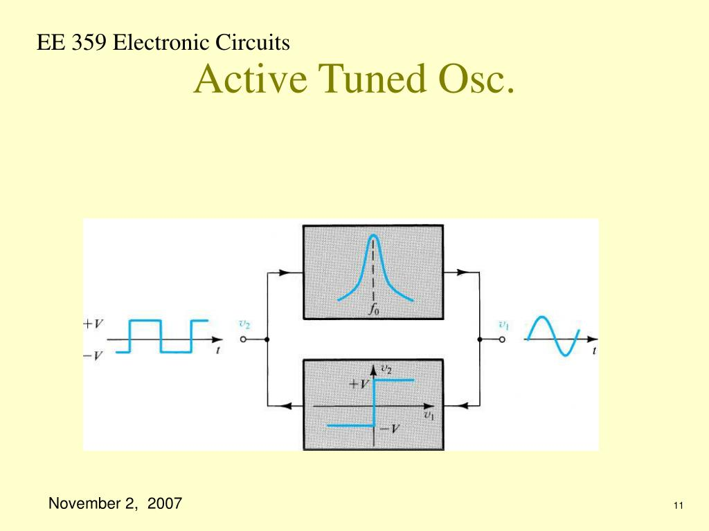Active Tuned Osc.