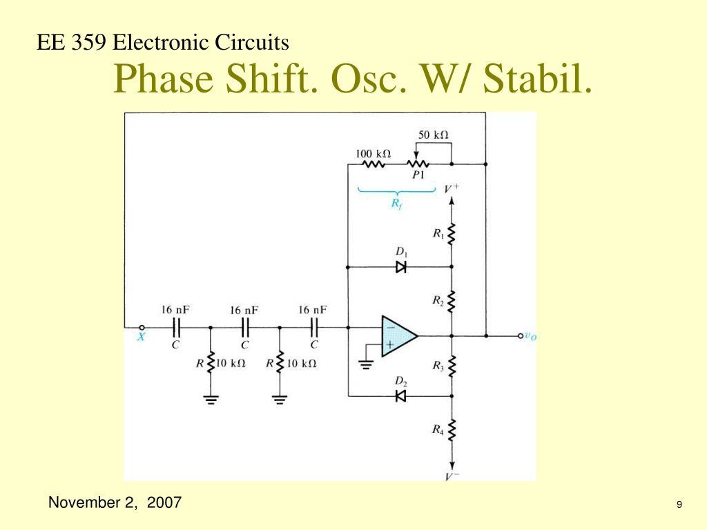 Phase Shift. Osc. W/ Stabil.