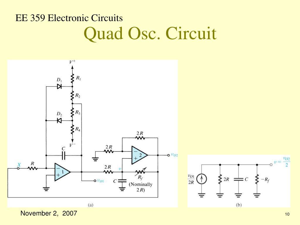 Quad Osc. Circuit