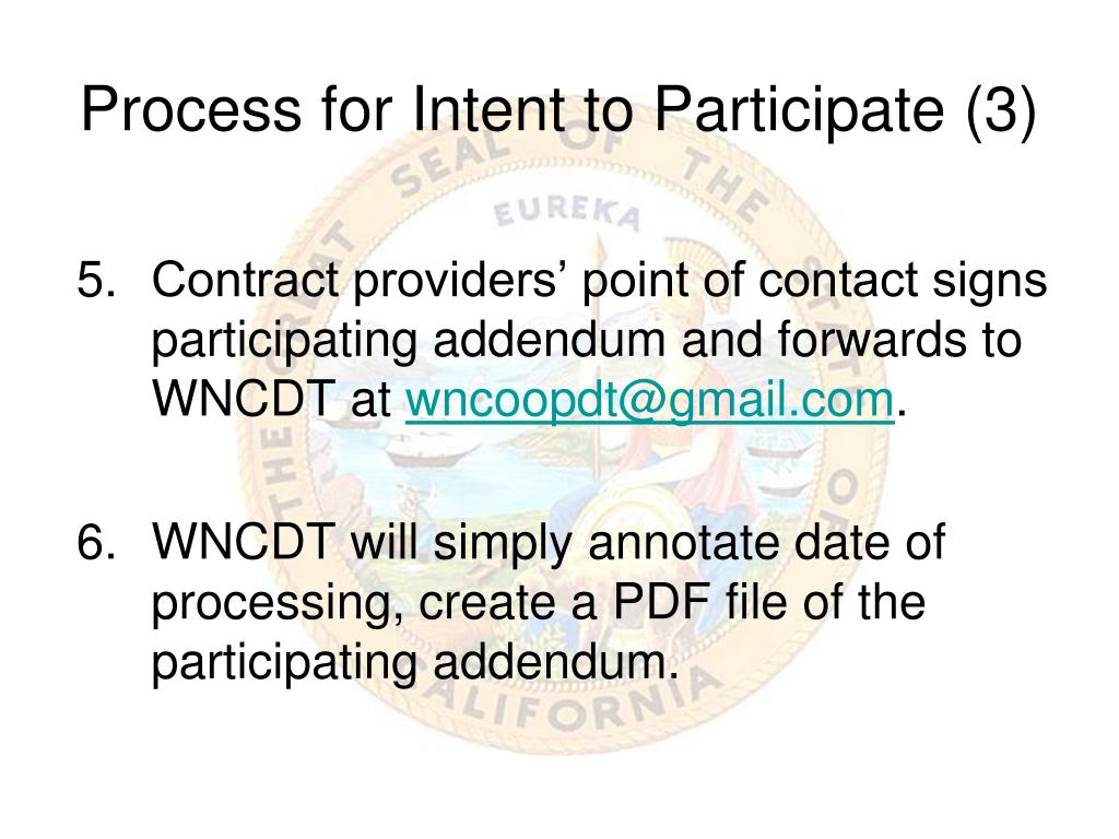 Process for Intent to Participate (3)