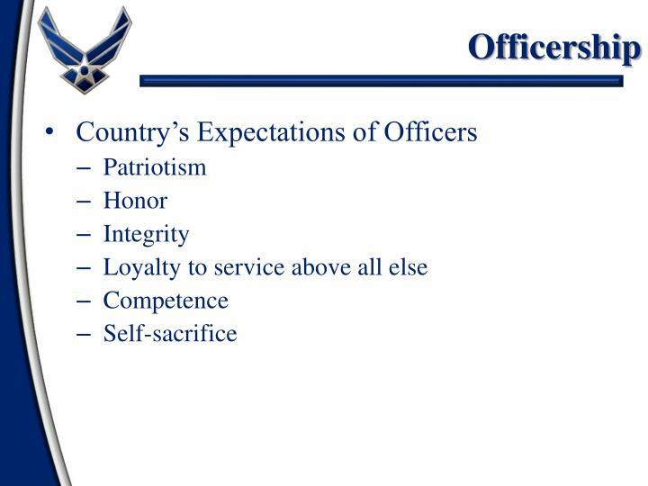Officership