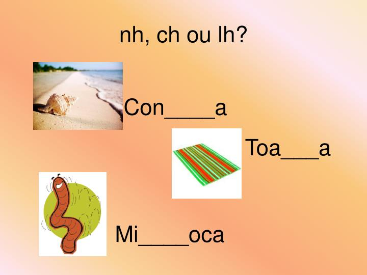 nh, ch ou lh?