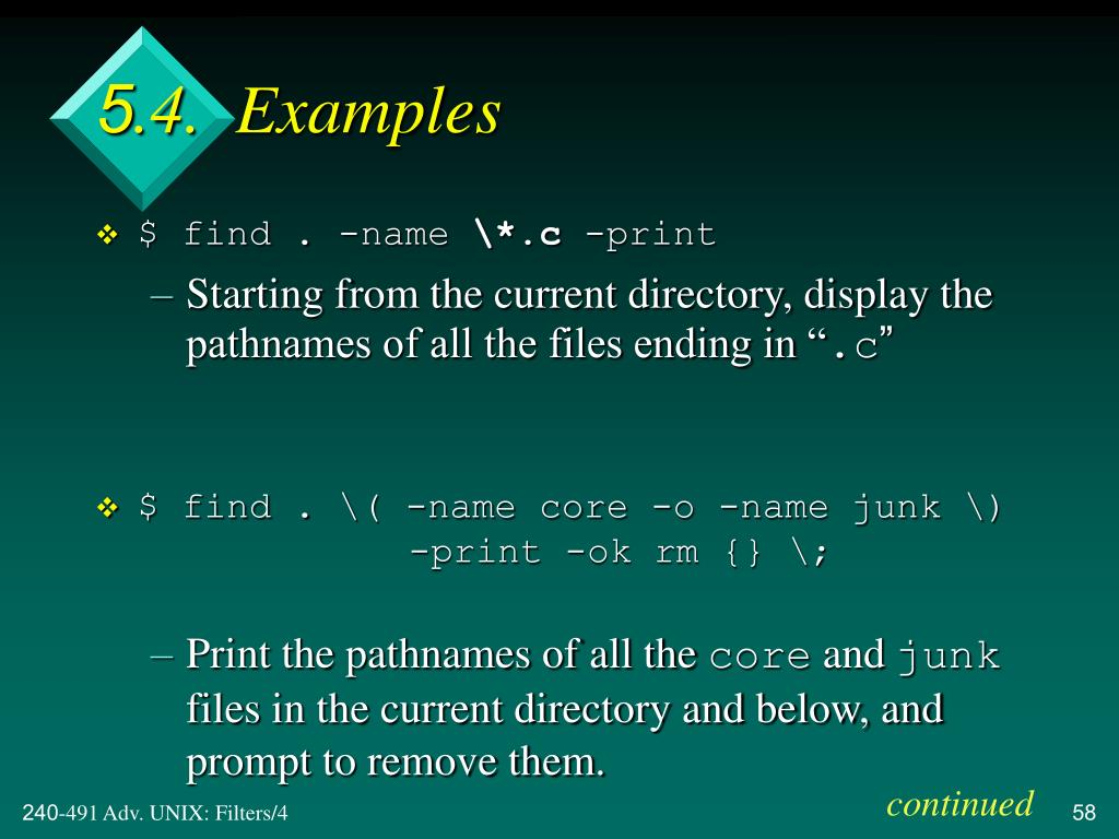 5.4.  Examples
