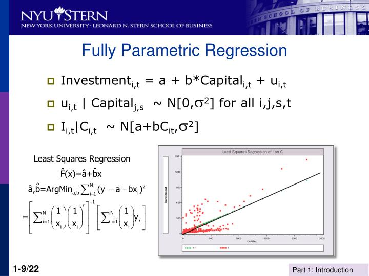 Fully Parametric Regression