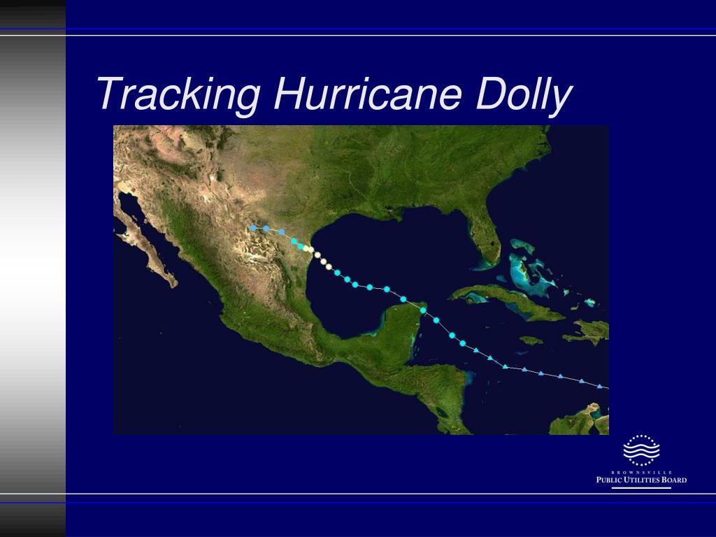 Tracking Hurricane Dolly