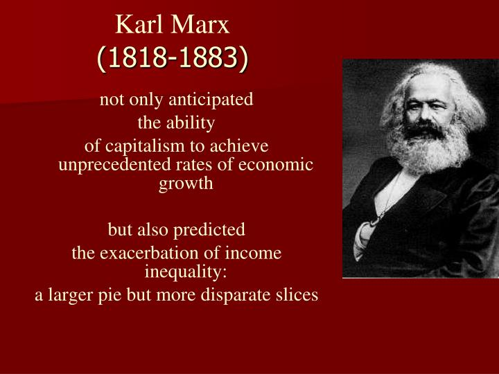 income inequality application of marxs theory A summary of theories of stratification in 's social stratification and inequality karl marx based his conflict theory on the idea that modern society has.