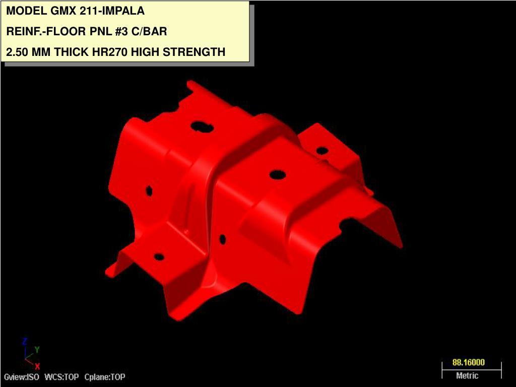 MODEL GMX 211-IMPALA