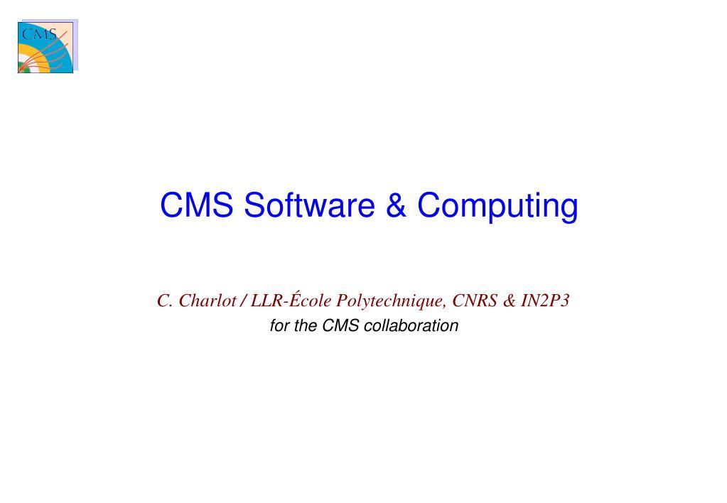 cms software computing