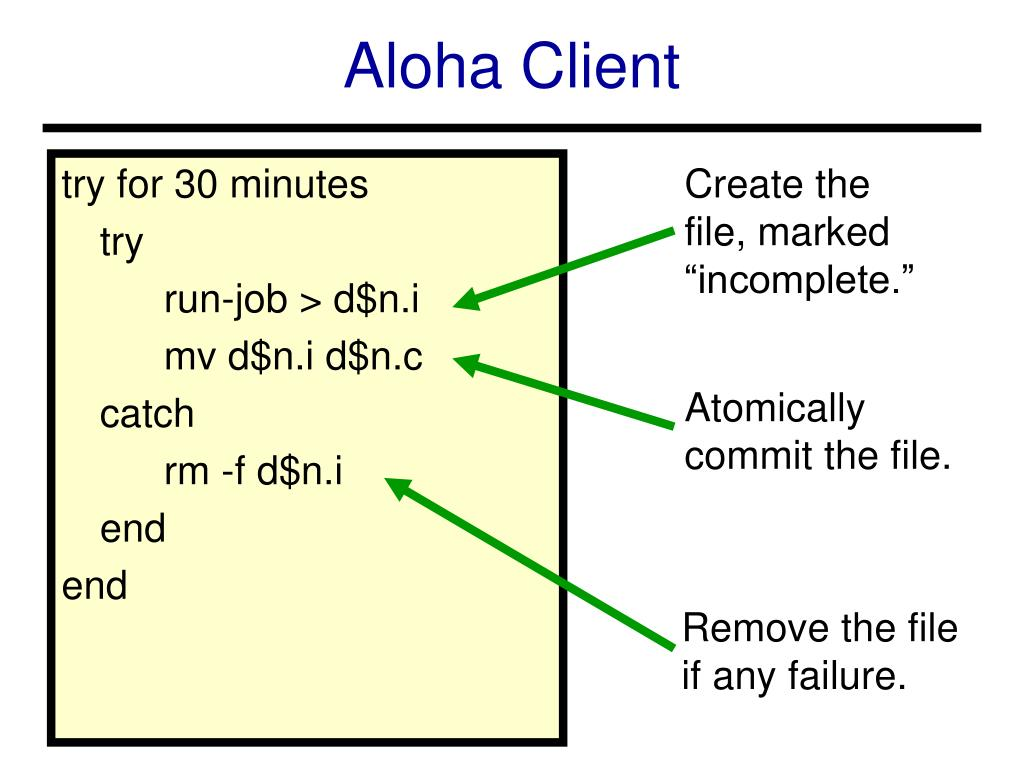 Aloha Client