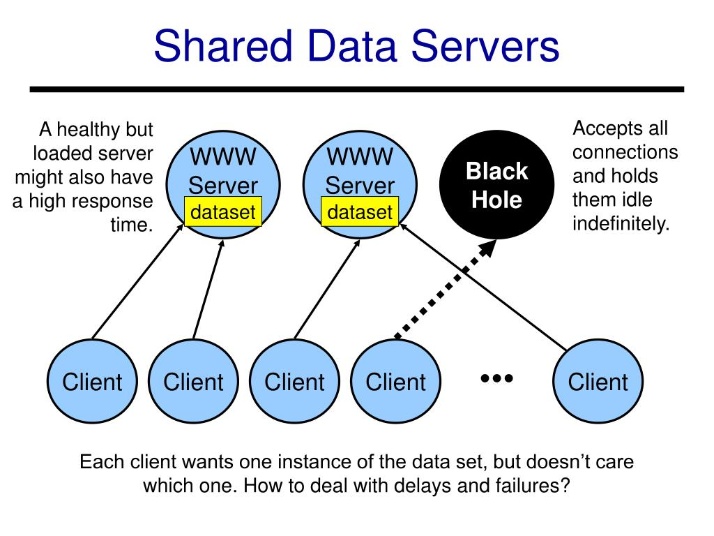 Shared Data Servers