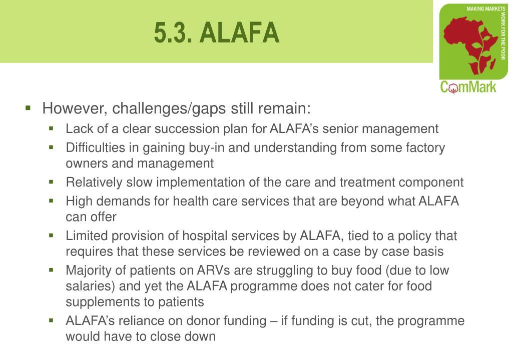 However, challenges/gaps still remain: