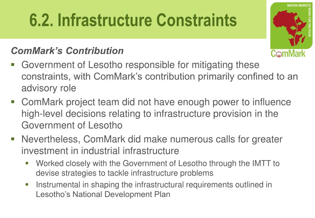 ComMark's Contribution