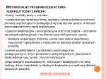 indywidualny program edukacyjno terapeutyczny zawiera1