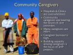 community caregivers