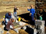 highlight rabbitry nutrition project village stay