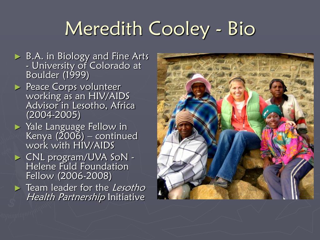 Meredith Cooley - Bio