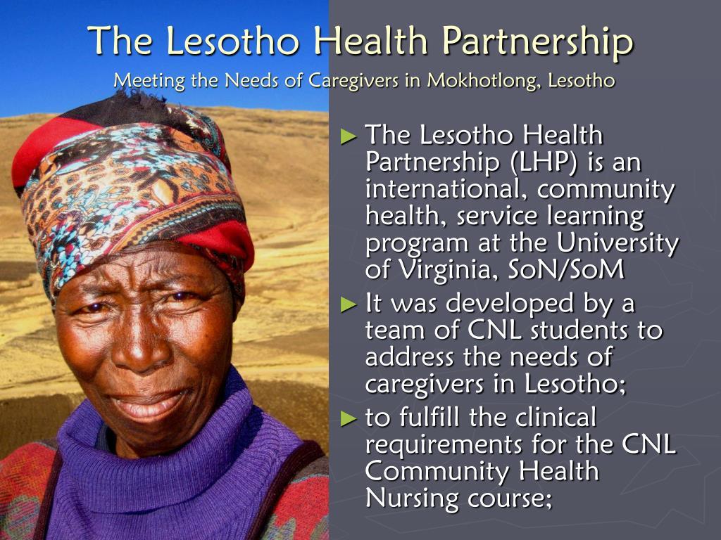 The Lesotho Health Partnership
