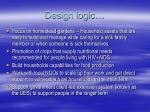design logic