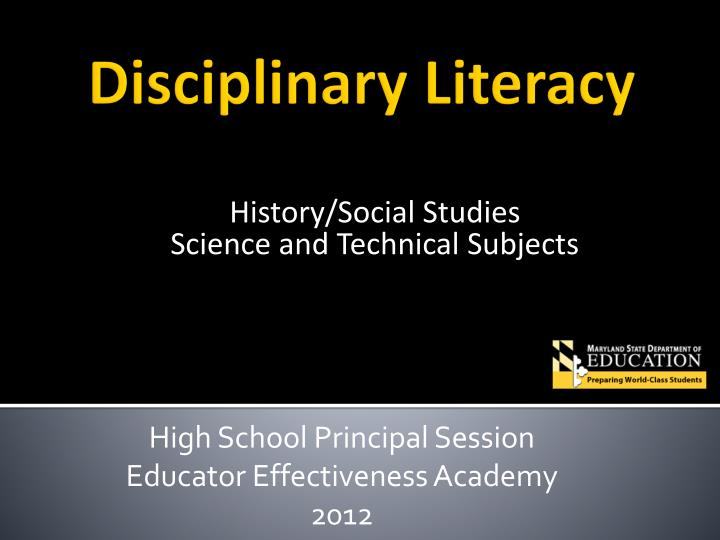 history social studies science and technical subjects n.