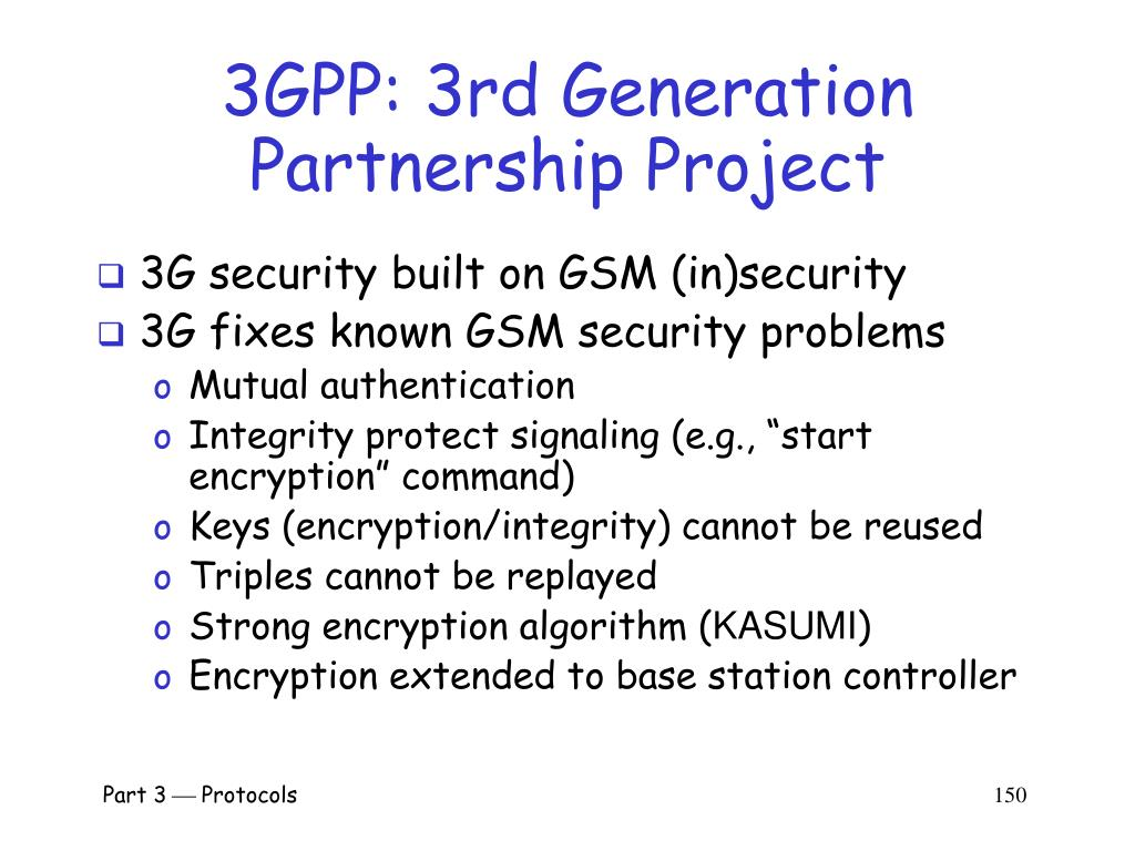 3GPP: 3rd Generation Partnership Project