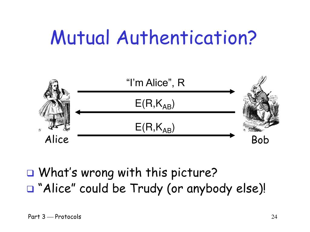 Mutual Authentication?