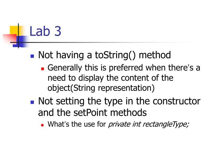 Lab 31