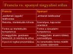 francia vs spanyol t rgyal si st lus