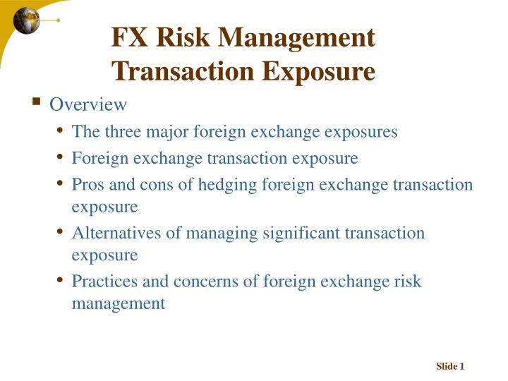 Forex risk management tools