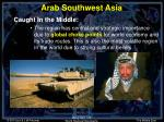 arab southwest asia