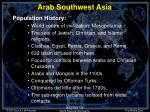 arab southwest asia11